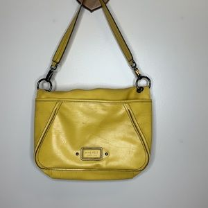 Nine West   Mustard Yellow Convertible Carry Bag